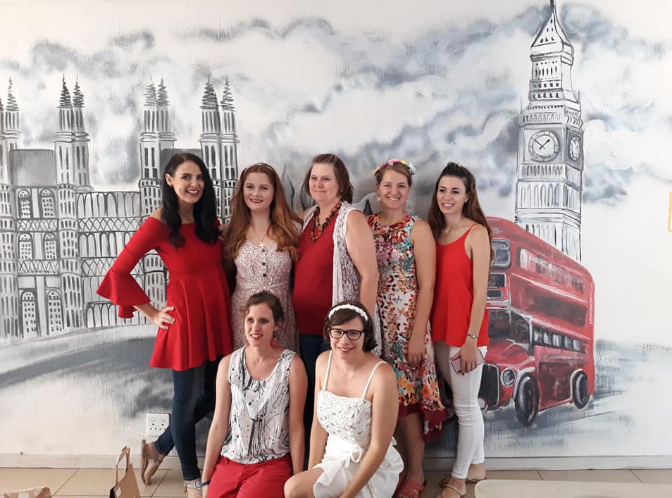 Our teachers at the British Royal College